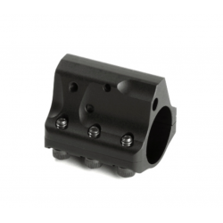 Low profile | 2-Piece  .750 bore  Black stainless steel  Detent Adjustment