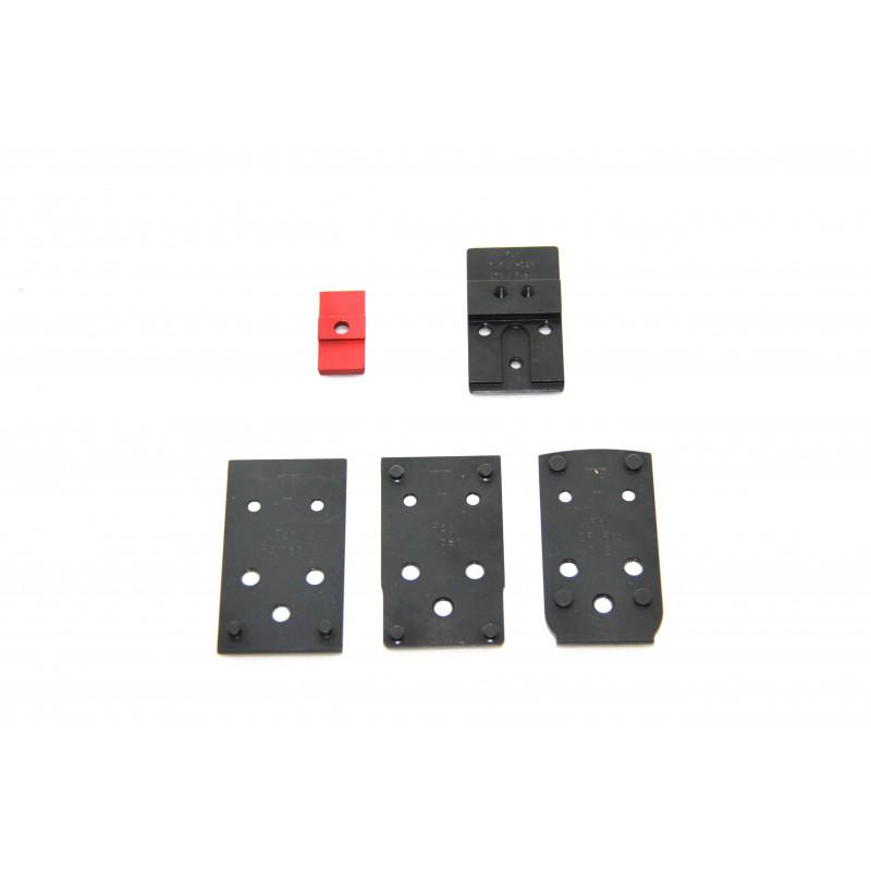 Kit Tanfoglio Pro Optic Adapter + 3 Bases