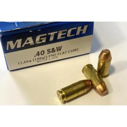 Munitions Magtech cal .40SW...