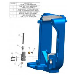 62345 - XL750 Rotor Clip...