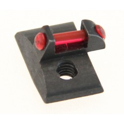 Front Sight with Optic Fiber